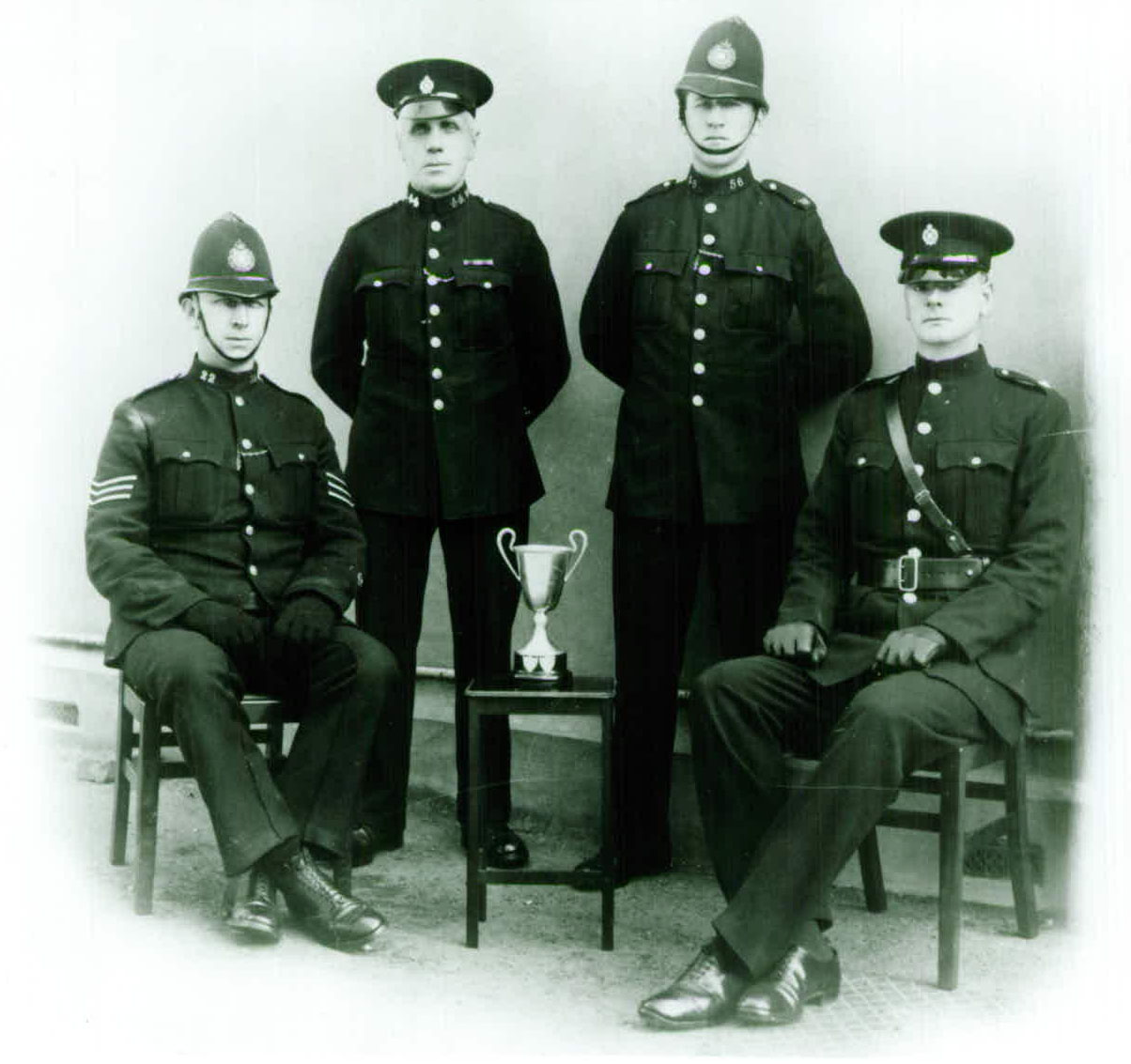 Group of Hampshire officers