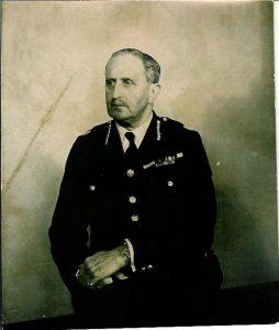 Major Ernest Radcliffe Cockburn, Chief Constable, Hampshire Constabulary