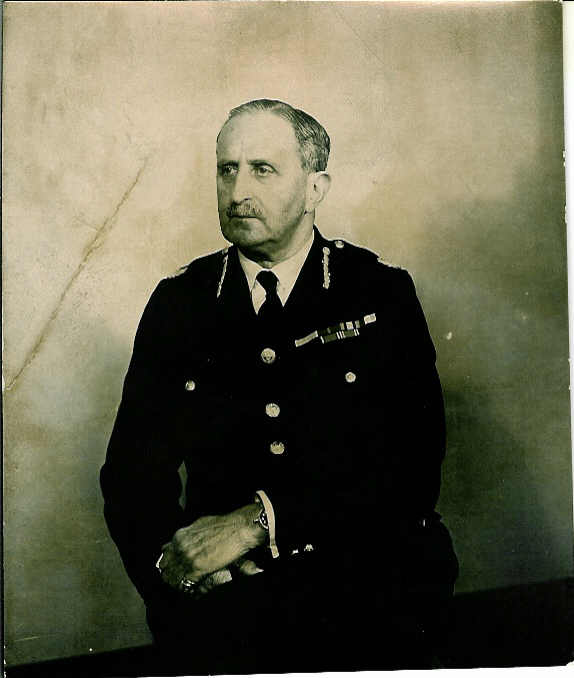 Major Ernest Radcliffe Cockburn, Chief Constable, Hampshire Constabulary