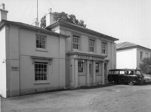Shirley police station 1950s
