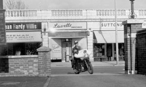 Shirley motorcyclist