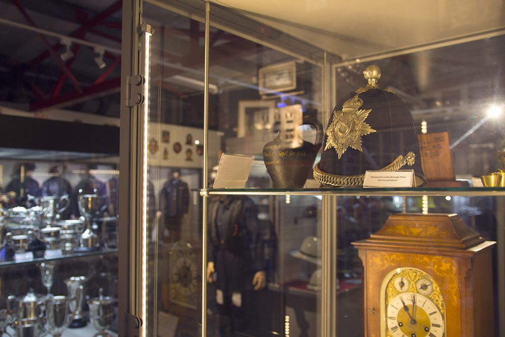 Various Police museum exhibits - Hampshire Police and Fire Heritage Trust Collection