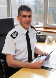 Andy Marsh - Chief Constable 2013-2016