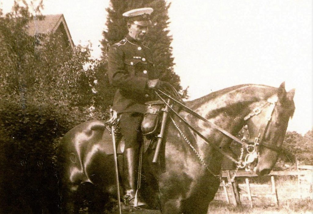 Hampshire Constabulary Mounted branch - Whitehill 1924